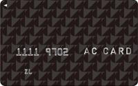 アコムのカード券面